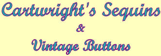 Cartwright's Sequins & Vintage Buttons